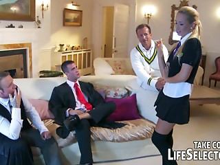 Maid,Uniform,Compilation,Group Sex,Gym,Hardcore,Reality,School