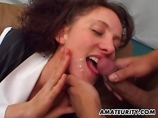 Double Penetration,Amateur,Cumshot,Facial,Hardcore,MILF,Redhead,Threesome