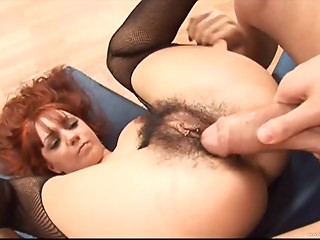 Hairy,Hardcore,Lingerie,Redhead,Couple