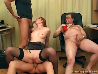 Gangbang,Reality,Secretary,Stockings,Natural,Shaved,Amateur,Blowjob,Group Sex,Hardcore,MILF,Nylon,Office