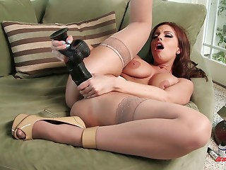 Sex Toys,Nylon,Solo,Fisting,Big Boobs,High Heels,MILF,Pornstar,Redhead,Stockings,Natural