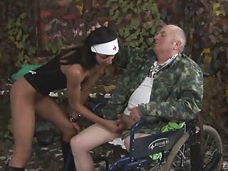 Old and young,Brunette,Doctor,Handjob,Hardcore,Mature,Nurse,Teen,Uniform,Couple