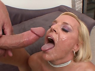 Screaming,Blonde,Cumshot,Facial,Hardcore,MILF,Pornstar,Couple