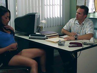 Office,Reality,Babe,Brunette,Cumshot,Hardcore,Pornstar,Couple
