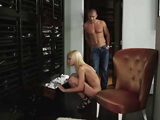 Couple,Blonde,Blowjob,Hardcore,Pornstar,Reality