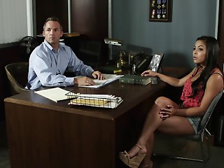 Office,Brunette,Hardcore,Latina,Pornstar,Reality,Wet,Couple