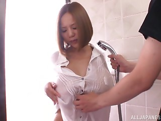Titfuck,Wife,Wet,Couple,Asian,Big Boobs,Hardcore,Reality,Shower