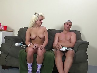 BBW,Couple,Big Boobs,Blonde,Hardcore,Pornstar,Natural,Socks