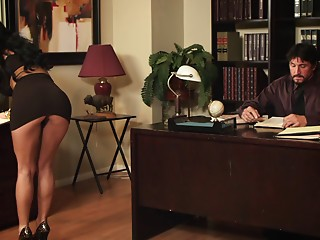 Upskirt,Brunette,Hardcore,High Heels,MILF,Office,Pornstar,Reality,Secretary,Couple