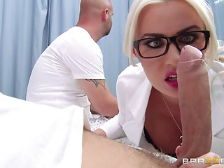 Nurse,Big Cock,Doctor,Uniform,Glasses,Hardcore,MILF,Pornstar,Reality,Big Ass,Blonde,Blowjob