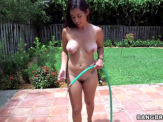 Maid,Reality,Tattoo,Natural,Big Boobs,Brunette,Hardcore,Latina,Outdoor