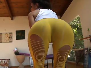 Yoga,Compilation,Babe,Panties