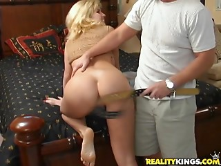 Spanking,Big Ass,Big Boobs,Blonde,Hardcore,MILF,Couple