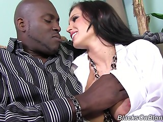 MILF,Interracial,Couple,Black and Ebony,Blonde,Hardcore,Pornstar,Reality