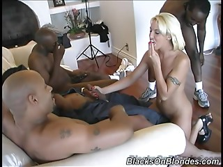 Gangbang,Blonde,Blowjob,Handjob,Hardcore,Interracial,Reality,Tattoo,Big Cock,Black and Ebony