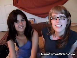 Glasses,Babe,Lesbian,Sex Toys,Ass licking