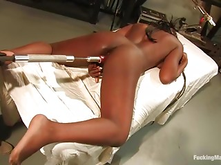 Machine,Black and Ebony,Fetish,Hardcore,BDSM