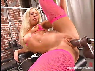 Machine,BDSM,Blonde,Fetish