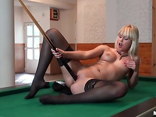 Babe,Big Boobs,Blonde,Fisting,Pool,Reality,Stockings,Solo,Shaved