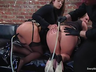 Threesome,Nylon,Lingerie,Stockings,Big Ass,Fetish,Fisting,Group Sex,High Heels