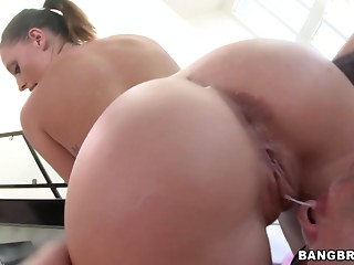 Oiled,Ass licking,Babe,Couple,Big Ass,Big Boobs,Hardcore,Outdoor,POV
