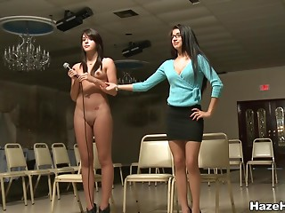 Casting,Babe,Brunette,Shaved,Reality,Lesbian,Natural