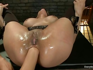 Fisting,Fetish,Hardcore,Lesbian,Sex Toys,Stockings,Natural,Shaved