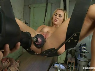Machine,BDSM,Blonde,Fetish,Sex Toys