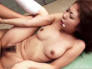 Hairy,Asian,Blowjob,Brunette,Cumshot,Facial,Hardcore