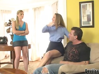 Daughter,Babe,Mature,MILF,Reality,Threesome