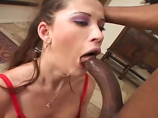 Smoking,Big Cock,Blowjob,Brunette,Cumshot,Interracial,Latina,Black and Ebony