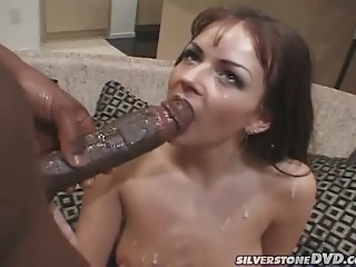 Smoking,Big Cock,Babe,Black and Ebony,Blowjob,Brunette,Cumshot,Hardcore,Interracial,Couple