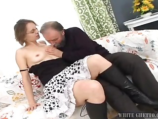 Glasses,Beautiful,Old and young,Hardcore,Mature,MILF,Natural,Couple