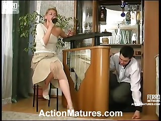 Amazing Hardcore Scene With The Mature Blonde Alice