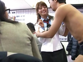 Office,Asian,Public Nudity,Gangbang,Hardcore,Reality