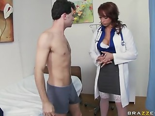 Nurse,Face Sitting,Big Boobs,Blowjob,Double Penetration,Lingerie,Threesome,Uniform,Anal