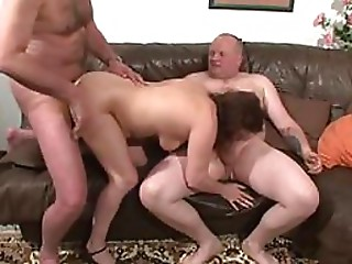 Blowjob,Double Penetration,Grannies,Hardcore,Threesome
