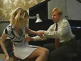 Office,Babe,Blonde,Blowjob,Hardcore,Russian