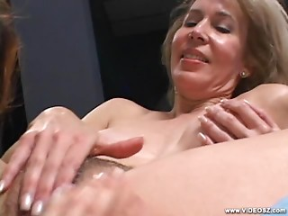 Hot Mature With Teen Gal Going Lesbian