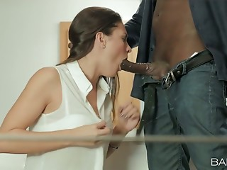 Office,Strip,Interracial,Babe,Big Boobs,Big Cock,Black and Ebony,Blowjob,Brunette,Cumshot,Hardcore,Lingerie,Small Tits,Doggystyle,Car Sex