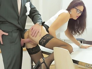 Secretary,Small Tits,Babe,Glasses,Big Ass,Blowjob,Brunette,Hardcore,Lesbian,Stockings,Doggystyle,Car Sex,Beautiful,Shaved