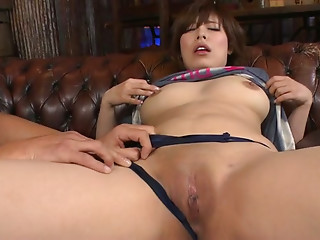 Asian,Blowjob,Double Penetration,Hardcore,Lingerie,Panties,Threesome,Natural,Shaved,Big Boobs,Bikini