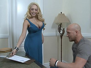 Dress,Blonde,Blowjob,Close-up,Pornstar,Teen,Big Boobs,Big Cock