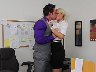 Office,Secretary,Close-up,Blonde,Hardcore,Lesbian,MILF