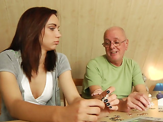 Old and young,Brunette,Mature,Small Tits,Teen,Strip,Beautiful