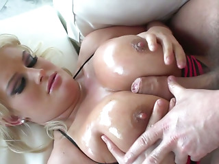 Oiled,Titfuck,BBW,Big Ass,Big Boobs,Blonde,Blowjob,Hardcore,MILF,Ass licking,Beautiful