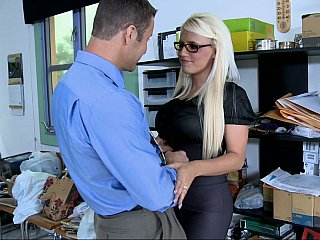 Office,Big Cock,Big Ass,Glasses,Blonde,Close-up,Hardcore,High Heels,Lesbian,Lingerie,MILF,Secretary,Strip,Big Boobs