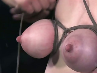 Big Boobs,Blonde,Nipples,Jeans,Natural,Slut,BDSM