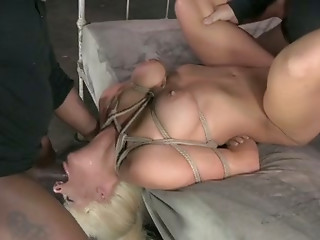 Double Penetration,Hardcore,Interracial,Tattoo,Threesome,Slut,BDSM,Big Boobs,Big Cock,Black and Ebony,Blonde,Blowjob