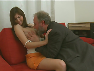 Old and young,Teen,Blowjob,Brunette,Mature,Small Tits,Shy,Strip,Slut,Shaved